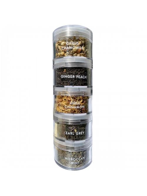 Succulent Aromas Tea Stack
