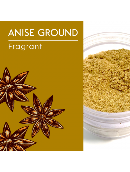 Anise Seed, Ground