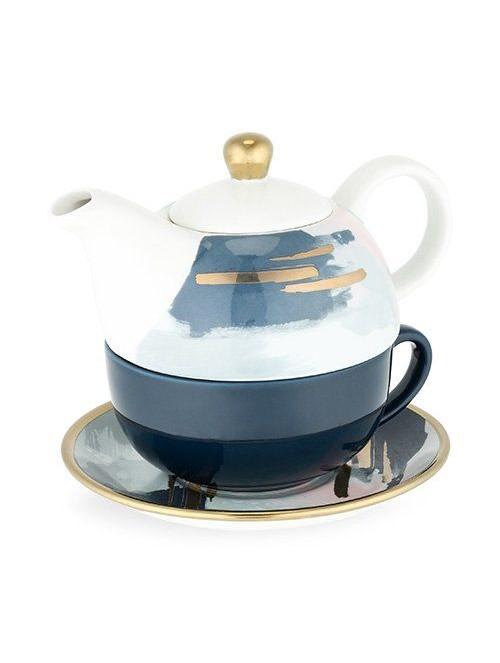 Ceramic Tea Set for One in...