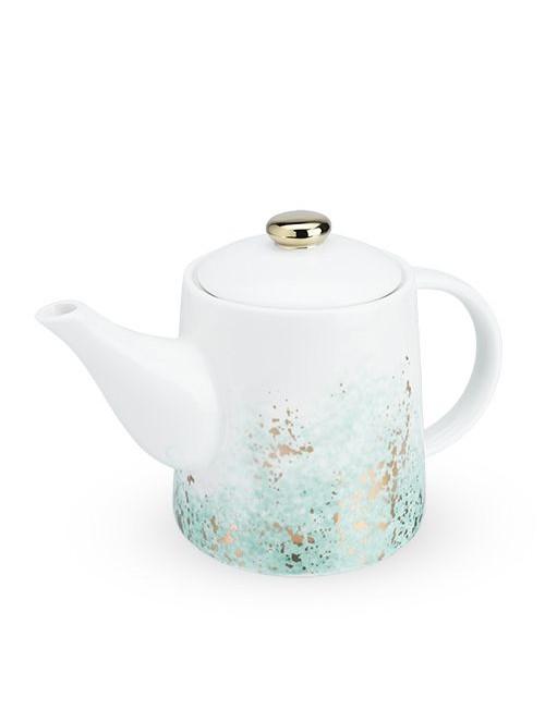 Ceramic Teapot & Infuser in...