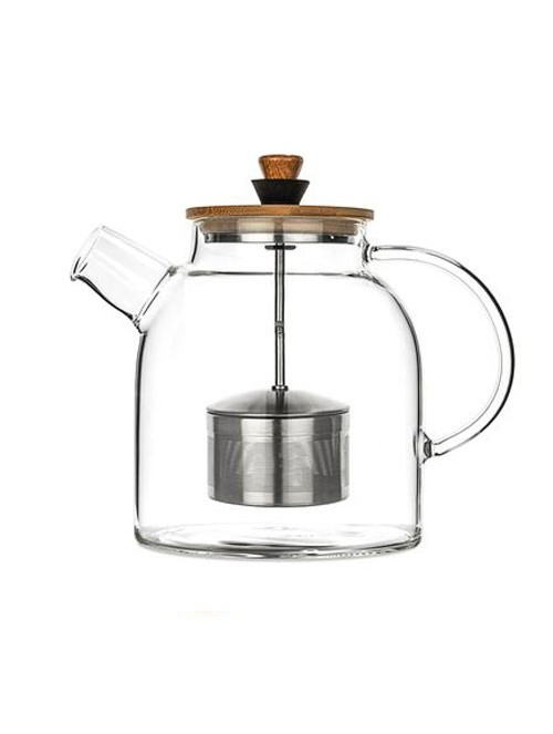 Glass Teapot & Kettle with...