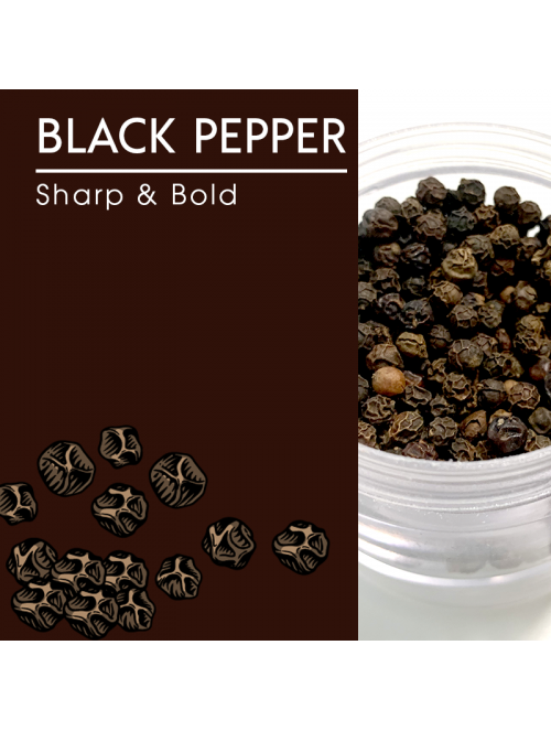 Black Pepper, Whole