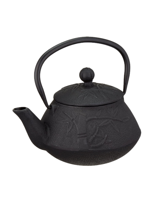Cast Iron Black Teapot Tree...