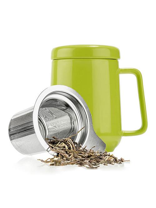 Ceramic Travel Tea Cup &...