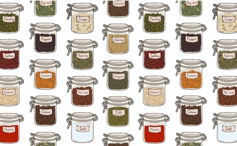 The Most Common Household Spices